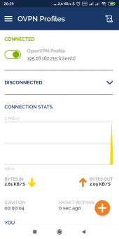 Настройка OpenVPN клиента на Android