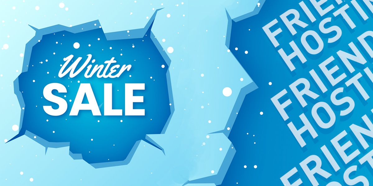 Winter Sale 2021 — 30% discount for SSD VDS and virtual hosting